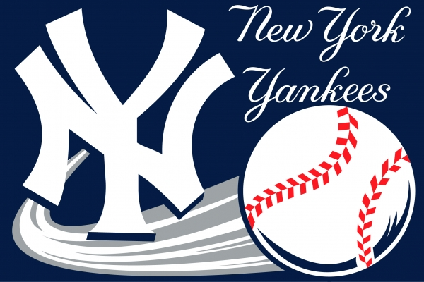New York Yankees Mlb 20 Quot X 30 Quot Acrylic Tufted Rug