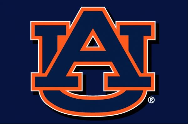 """Auburn Tigers NCAA College 39"""" x 59"""" Acrylic Tufted Rug"""