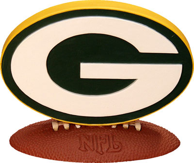 Green Bay Packers Nfl Logo Figurine