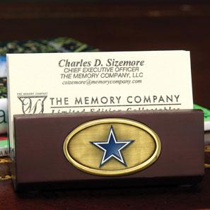 Dallas Cowboys Nfl Business Card Holder