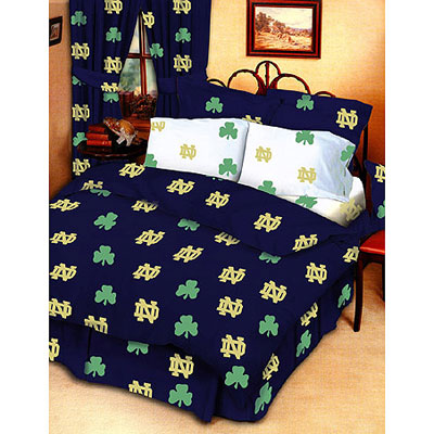Notre Dame Fighting Irish 100 Cotton Sateen Twin Bed In A Bag
