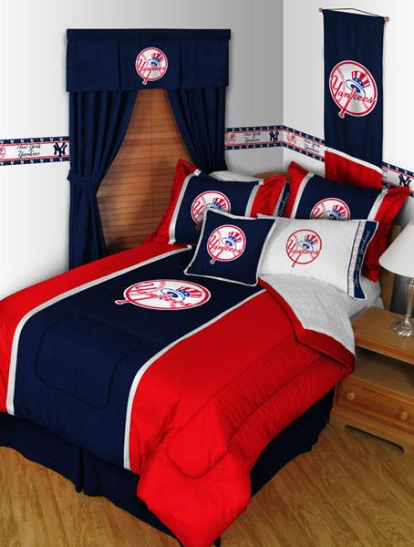New York Yankees MLB Microsuede Comforter Sheet Set