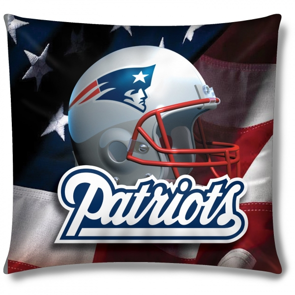 New england patriots nfl 18 photo real pillow - New england patriots bedroom accessories ...