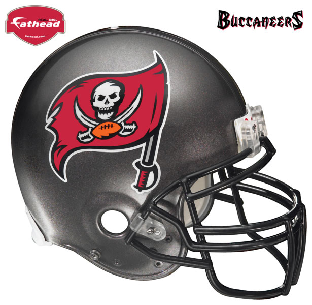 Tampa Bay Buccaneers Helmet Fathead Nfl Wall Graphic
