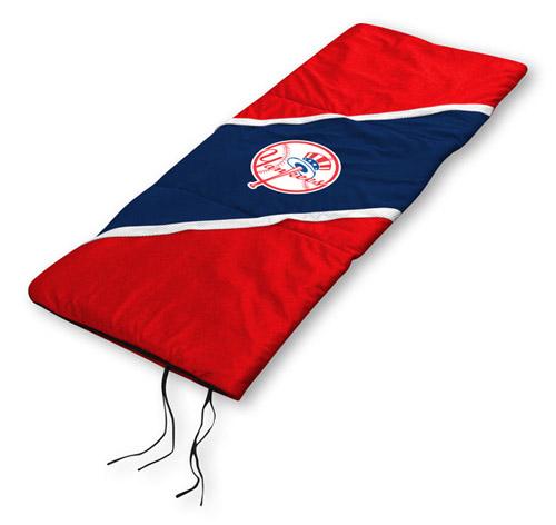 New York Yankees Mlb Microsuede Waterproof Sleeping Bag