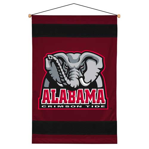 Alabama Crimson Tide Side Lines Wall Hanging