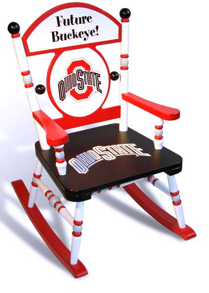 Ohio State University Team Rocking Chair
