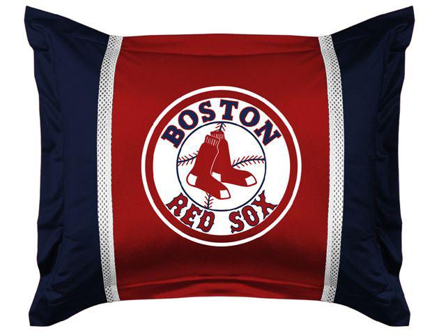 Boston Red Sox Mlb Microsuede Pillow Sham