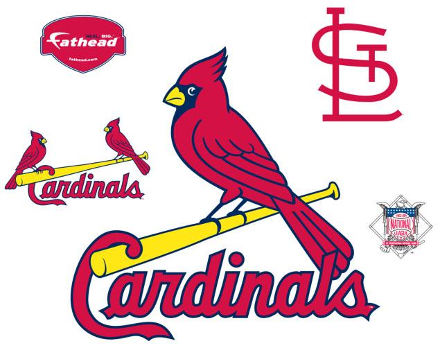 stl cardinals wallpaper. St. Louis Cardinals Logo Fathead MLB Wall Graphic - FamilyBedding.com