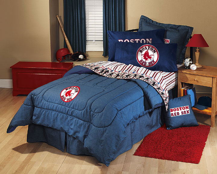 Boston Red Sox Twin Bedding Sets