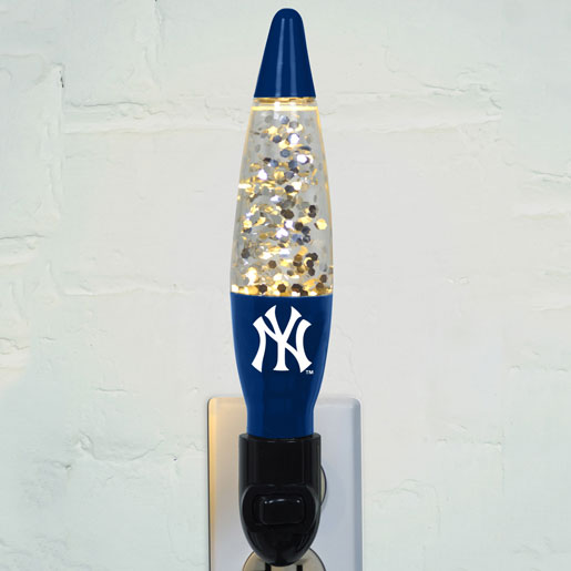 New York Yankees Mlb Motion Lava Nightlight
