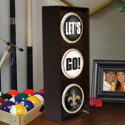 New Orleans Saints Nfl Stop Light Table Lamp
