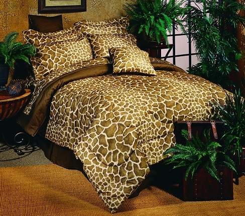 Giraffe Xl Twin Bed In A Bag