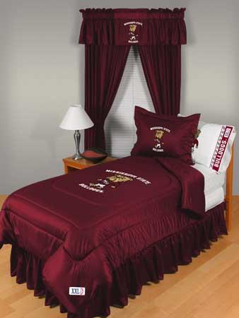 Mississippi State Bulldogs Locker Room Comforter Sheet Set