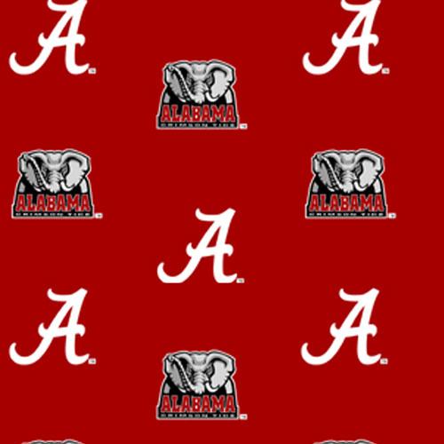 Alabama Crimson Tide Crib Bumpers Red