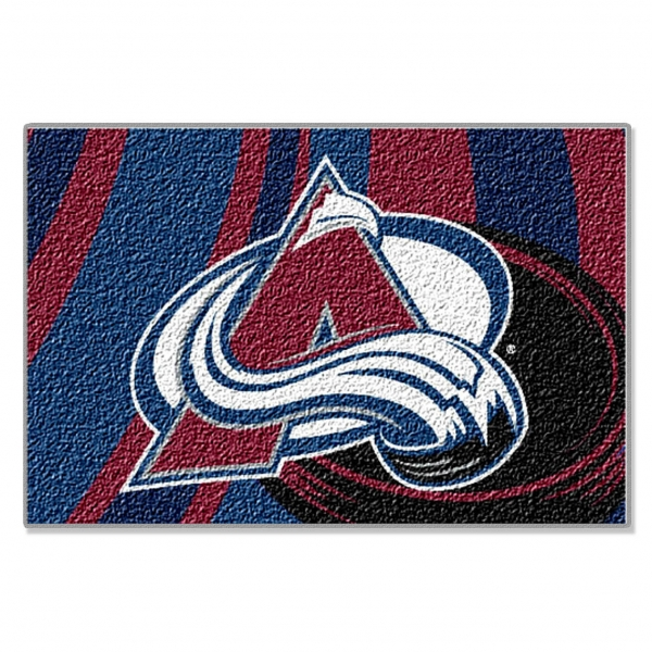 Colorado Avalanche Nhl 39 Quot X 59 Quot Tufted Rug