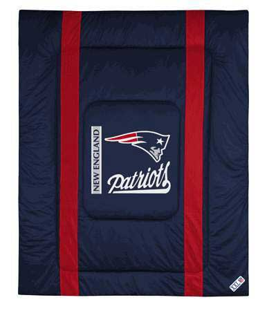 New england patriots side lines comforter - New england patriots bedroom accessories ...