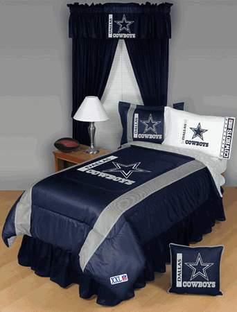 bedding room decor accessories dallas cowboys nfl bedding room