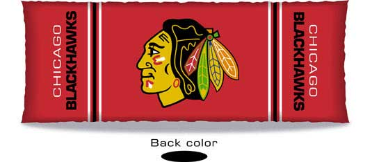 Chicago Blackhawks Body Pillow