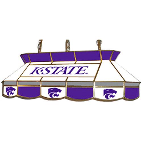 Kansas State Wildcats Teardrop Stained Glass Billiard Light