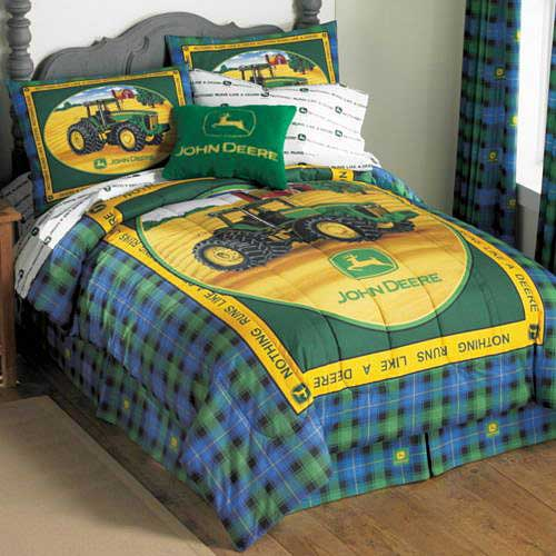 John Deere Bathroom Decor: John Deere Full Comforter