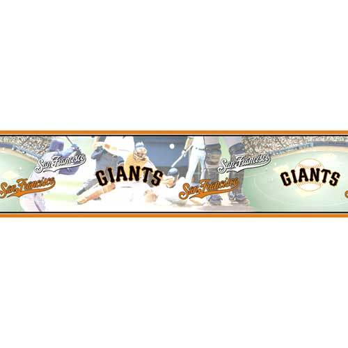 san francisco giants wall border