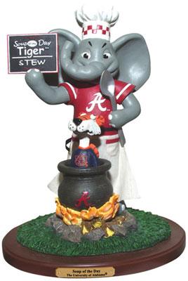 Alabama Crimson Tide Ncaa College Soup Of The Day Mascot