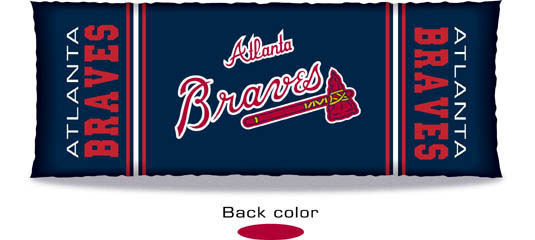 Atlanta Braves Body Pillow