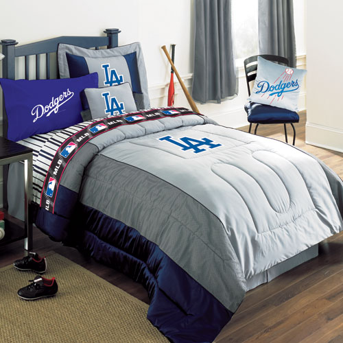 Los Angeles Dodgers Mlb Authentic Team Jersey Bedding Twin