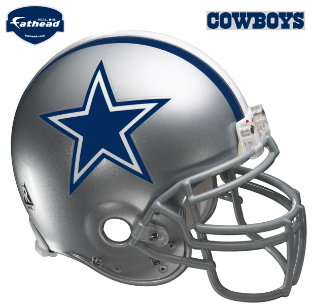 Dallas Cowboys Helmet Fathead Nfl Wall Graphic