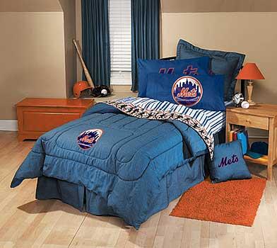New York Mets Bedding Team Denim Twin Size Comforter