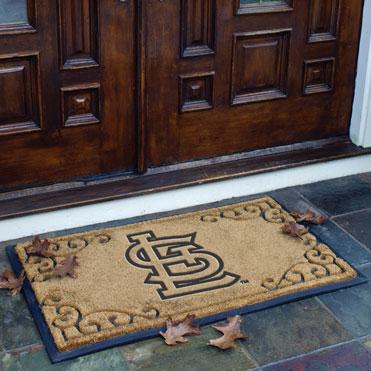 St Louis Cardinals Mlb Rectangular Outdoor Door Mat