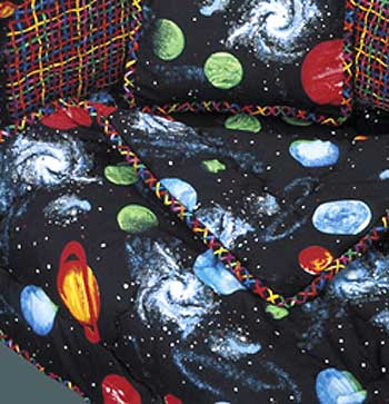 planet and moons comforter - photo #5