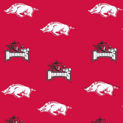 Arkansas Razorbacks Crib Comforter Red