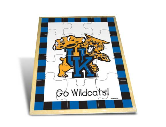 University Of Kentucky Wooden Puzzle