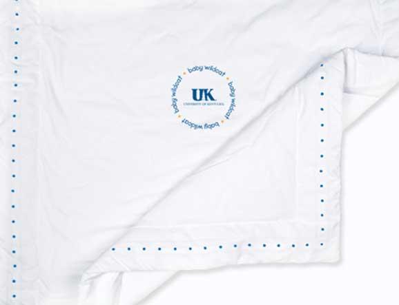 University Of Kentucky Baby Comforter