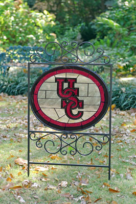 South Carolina Gamecocks Ncaa College Stained Glass