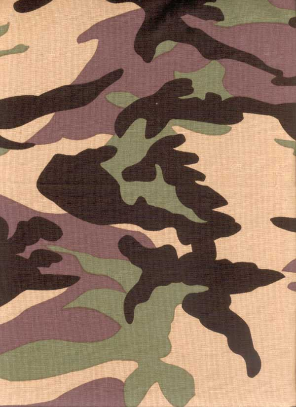 Flying Tigers Pillow Case Camouflage