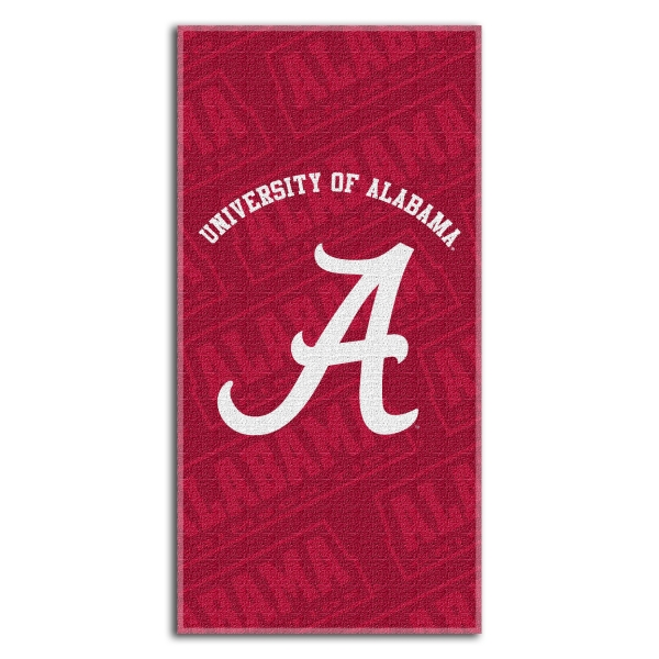Alabama Crimson Tide College 30 Quot X 60 Quot Terry Beach Towel