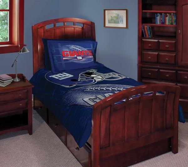 New York Giants Nfl Twin Comforter Set 63 Quot X 86 Quot