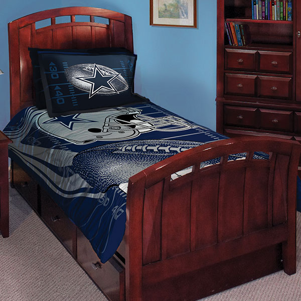 "Dallas Cowboys Bedroom Decor: Dallas Cowboys NFL Twin Comforter Set 63"" X 86"""