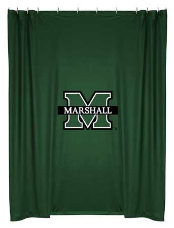 Marshall Locker Room Shower Curtain