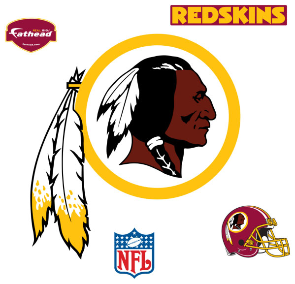 Washington Redskins Logo Fathead Nfl Wall Graphic