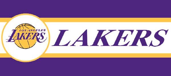Los Angeles Lakers 7 Quot Tall Wallpaper Border