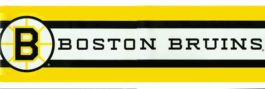 Boston Bruins Wallpaper Border