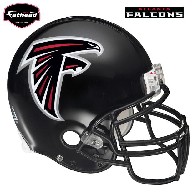 Atlanta Falcons Helmet Fathead Nfl Wall Graphic