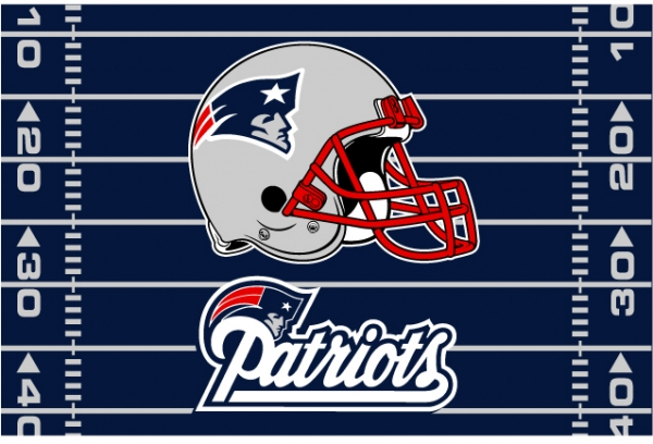 New england patriots nfl 39 x 59 tufted rug - New england patriots bedroom accessories ...