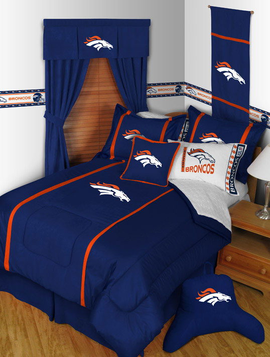 Denver Broncos MVP Bed Skirt. Zoom
