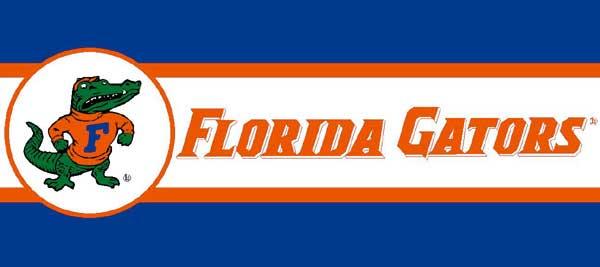 Florida Gators 7 Quot Tall Wallpaper Border