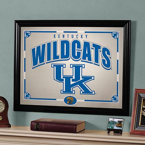 Kentucky Wildcats Ncaa Framed Mirror